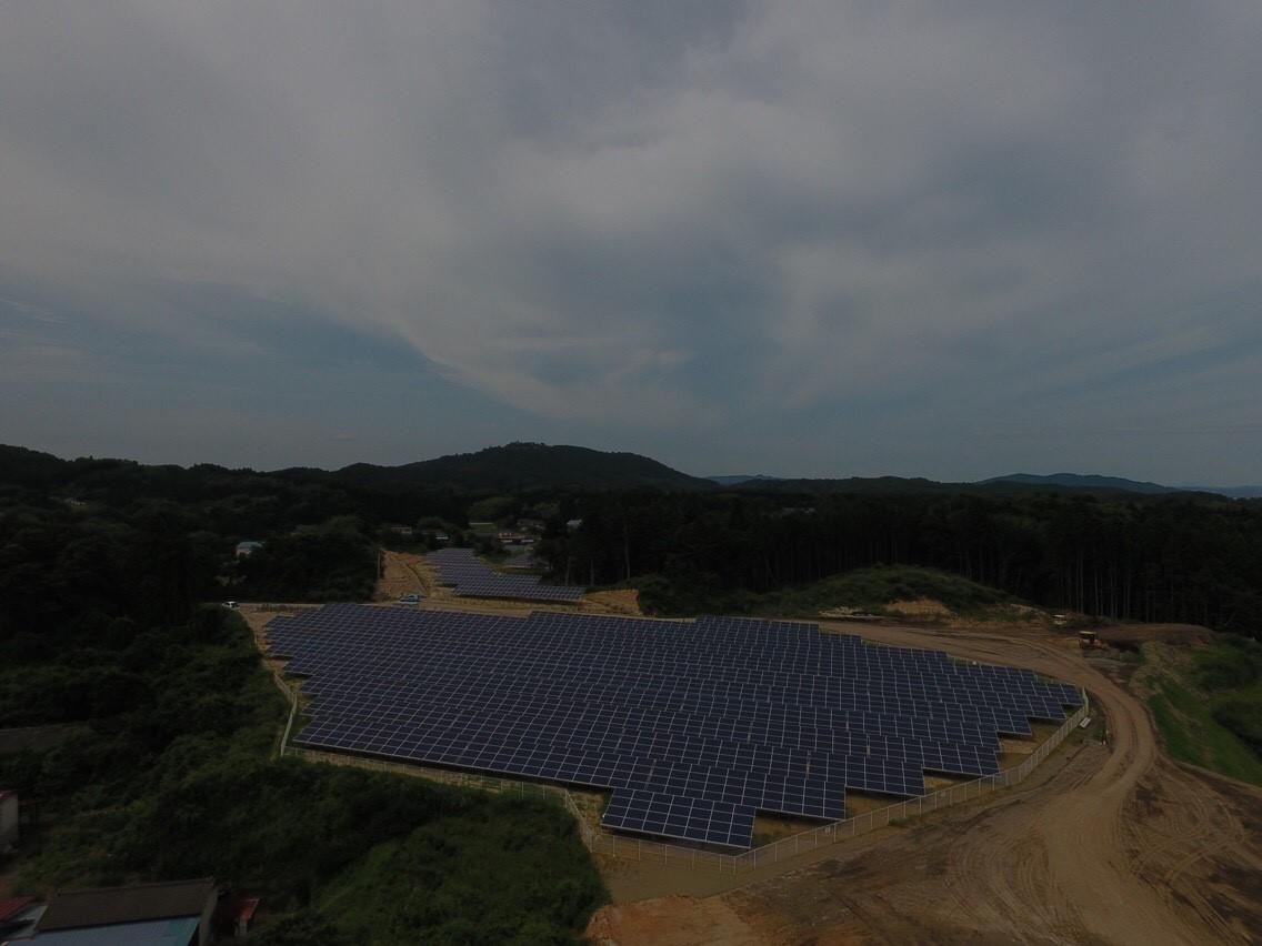 石巻市広渕太陽光発電所
