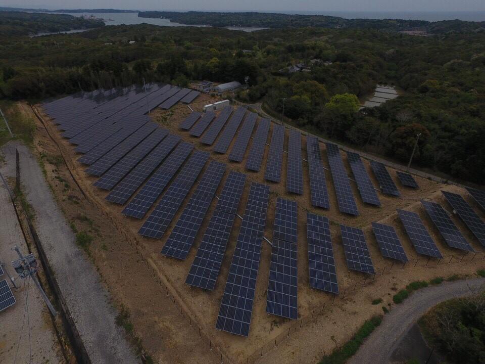 三ヶ所太陽光発電所